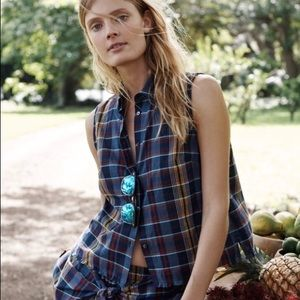 Madewell | Moment Shirt in Madras Plaid